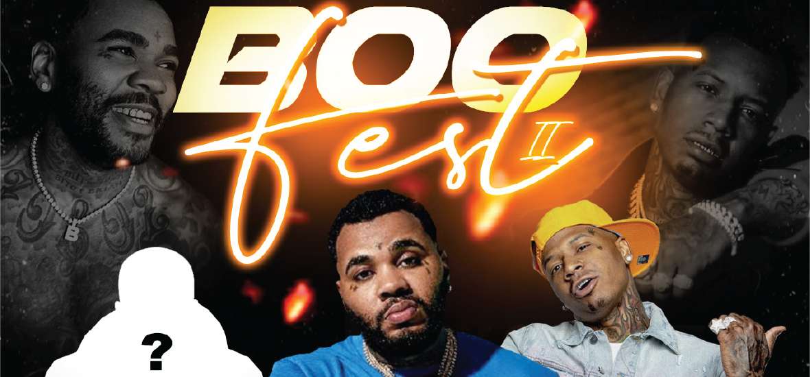 Boo Fest 2 featuring Kevin Gates and Friends (Postponed)